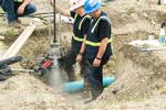 Live gate valve install